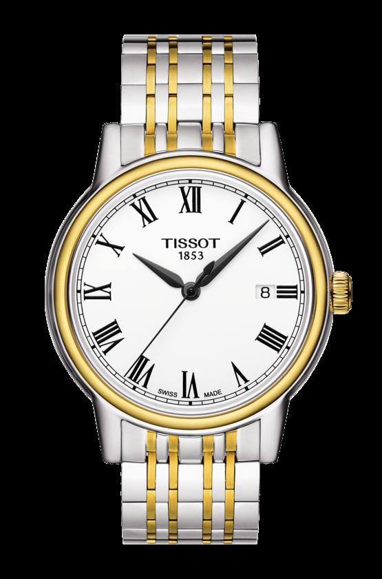 นาฬิกาผู้ชาย Tissot รุ่น T0854102201300, T-Classic Carson Quartz