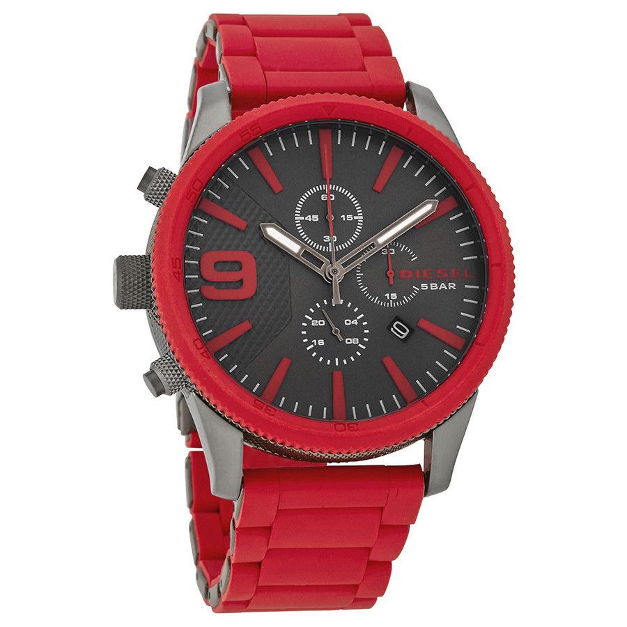นาฬิกาผู้ชาย Diesel รุ่น DZ4448, Rasp Chrono XLarge Watch Chronograph With Left Hand Crown And Pushers Men's Watch