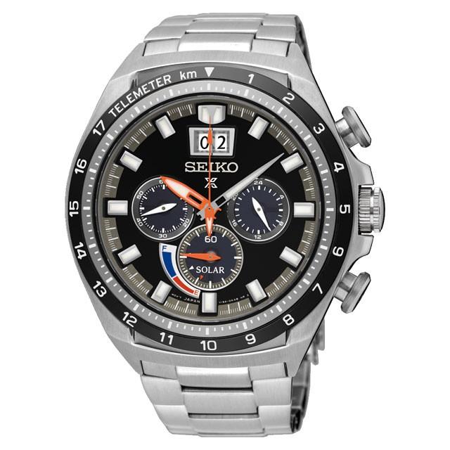 นาฬิกาผู้ชาย Seiko รุ่น SSC603P1, Prospex Sports Solar Chronograph
