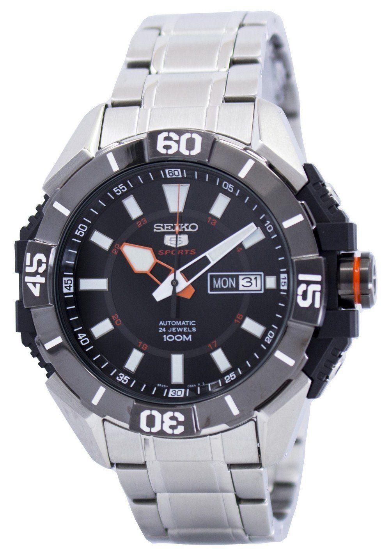 นาฬิกาผู้ชาย Seiko รุ่น SRP795K1, Seiko 5 Sports Automatic 24 Jewels