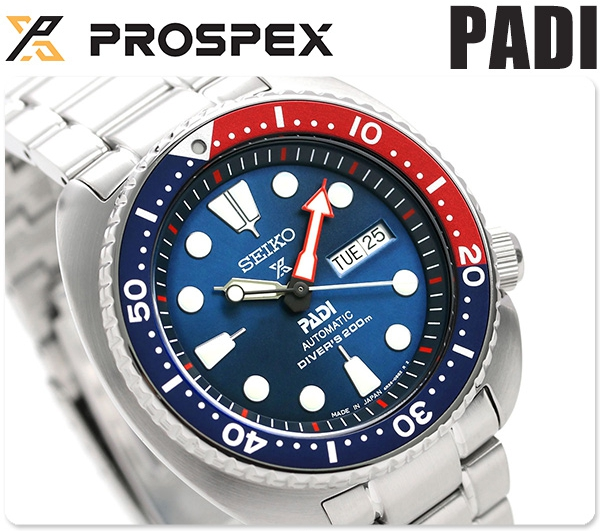 นาฬิกาผู้ชาย Seiko รุ่น SBDY017, Prospex PADI Special Edition Automatic Diver 200m Made in Japan Men's Watch