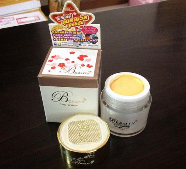บิวตี้ทรี เดย์ครีม Beauty3 Day cream (ครีมกลางวัน) 15g. ราคาถูกๆ ส่ง