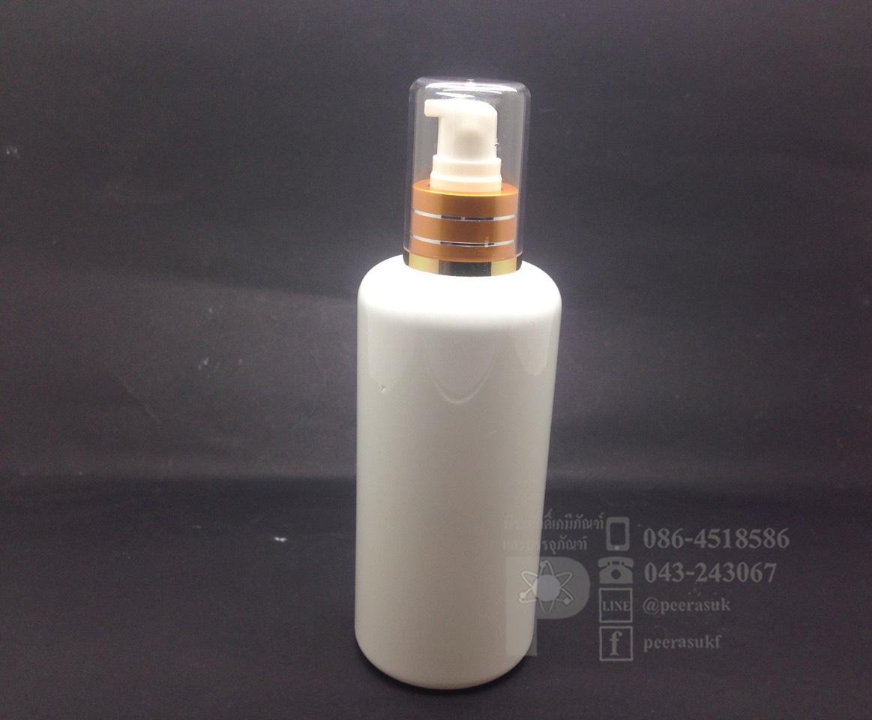 EE250 ml สีขาว+ปั้มเจลทอง 10 ชิ้น