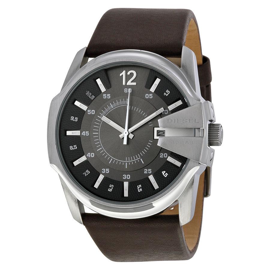 นาฬิกาผู้ชาย Diesel รุ่น DZ1206, Master Chief Quartz Brown Leather