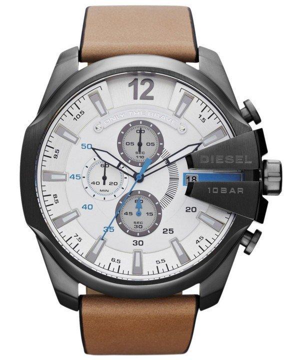 นาฬิกาผู้ชาย Diesel รุ่น DZ4280, Mega Chief Chronograph Quartz Men's Watch