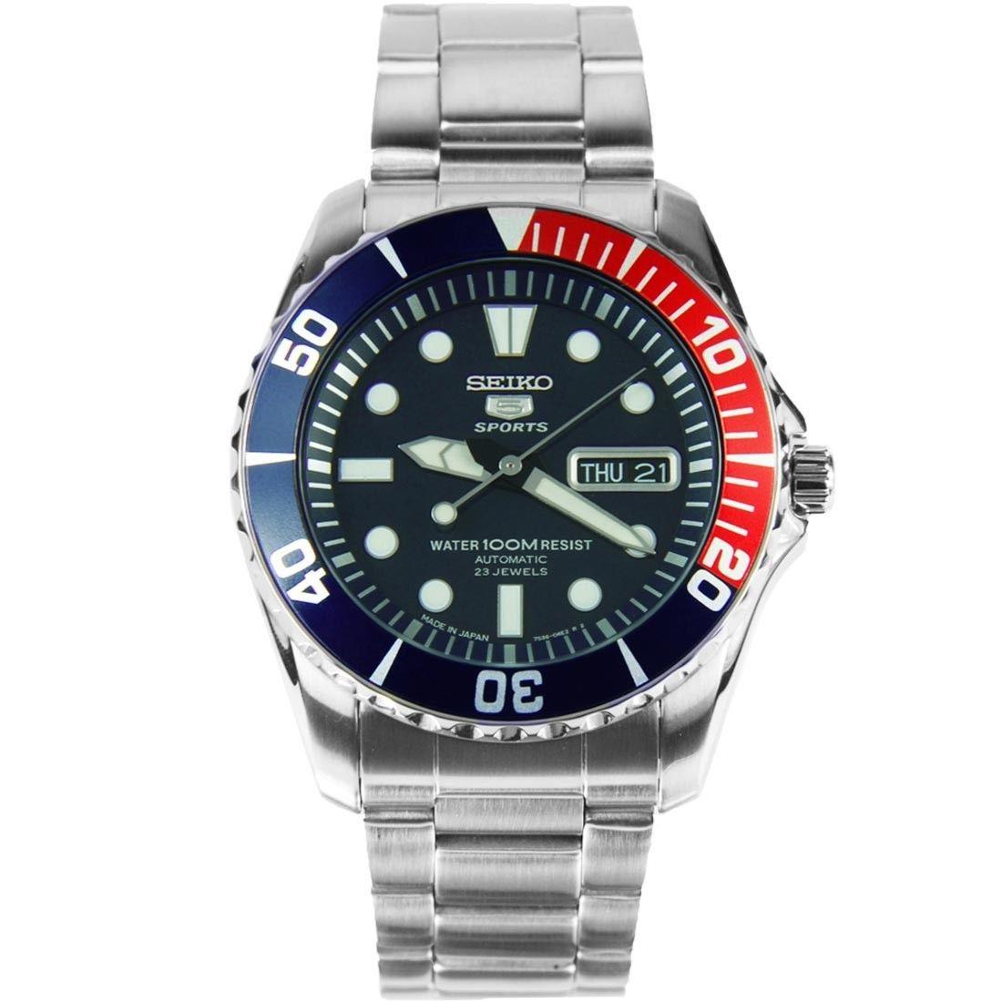 นาฬิกาผู้ชาย Seiko รุ่น SNZF15J1, Seiko 5 Sports