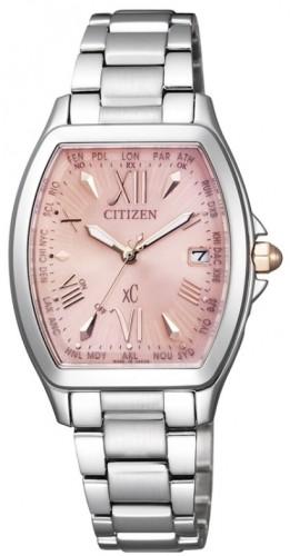 นาฬิกาข้อมือผู้หญิง Citizen Eco-Drive รุ่น EC1100-56W, Radio World Time Japan Sapphire