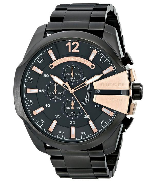 นาฬิกาผู้ชาย Diesel รุ่น DZ4309, Quartz Chief Chronograph Black Dial