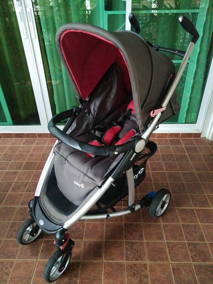 รถเข็นเด็ก Safety 1st สีเทาดำ รหัสสินค้า SL0016