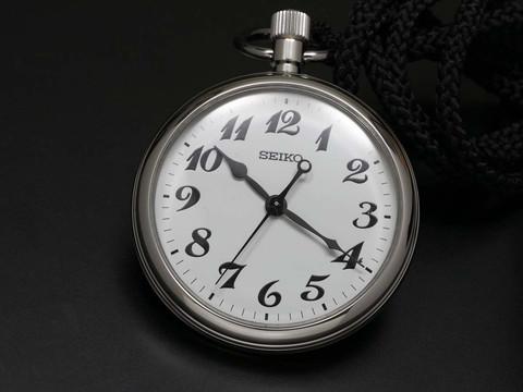 นาฬิกาพกพา Seiko รุ่น SVBR003, Rail Road Pocket Watch Quartz