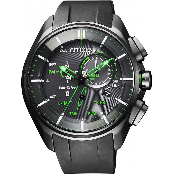 นาฬิกาผู้ชาย Citizen Eco-Drive รุ่น BZ1045-05E, Bluetooth Super Titanium Men's Watch