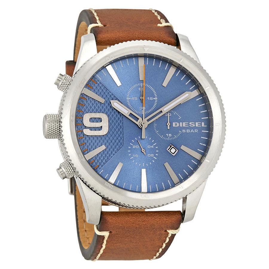 นาฬิกาผู้ชาย Diesel รุ่น DZ4443, Rasp Chrono XLarge Watch Chronograph With Left Hand Crown And Pushers Men's Watch