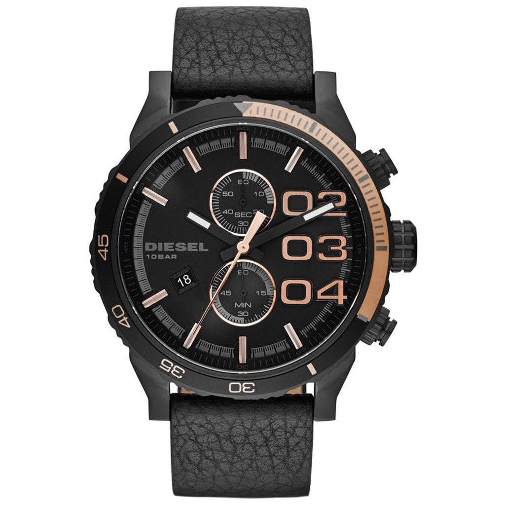 นาฬิกาผู้ชาย Diesel รุ่น DZ4327, Double Down Chronograph Men's Watch