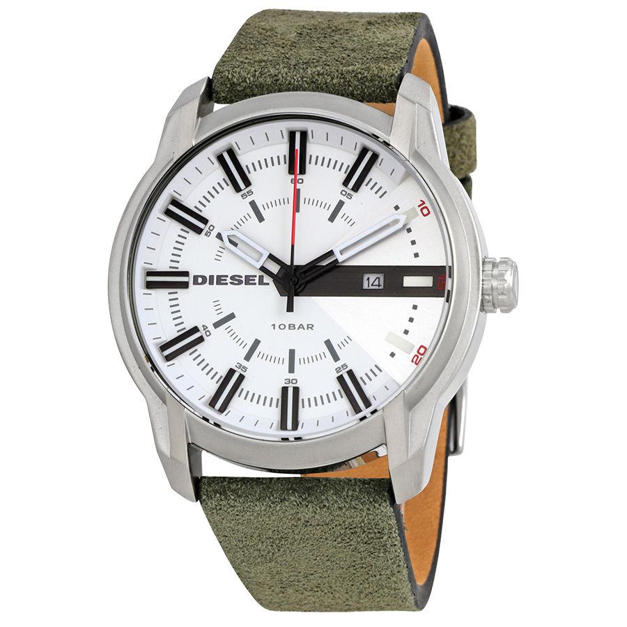 นาฬิกาผู้ชาย Diesel รุ่น DZ1781, Armbar White Dial