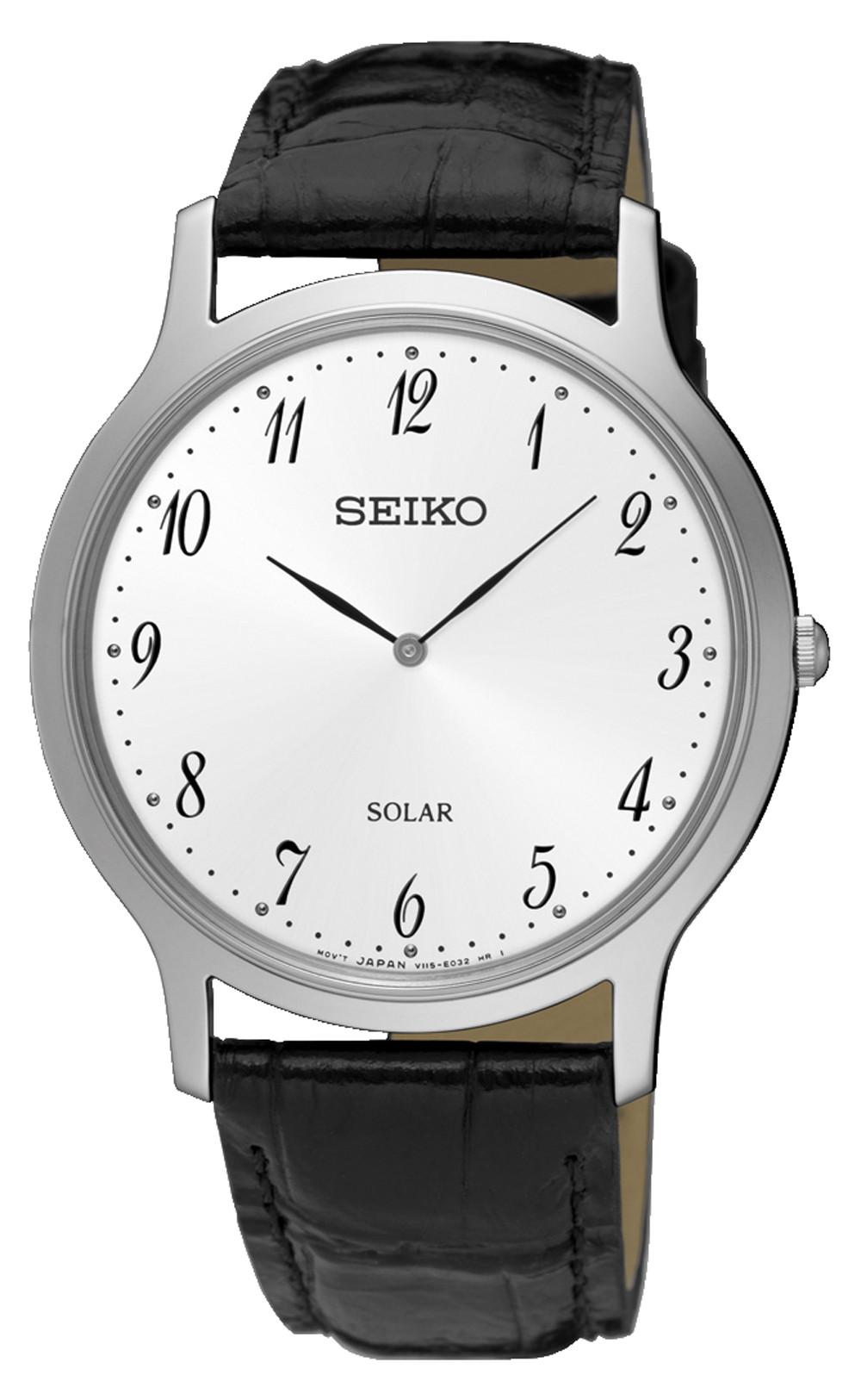 นาฬิกาผู้ชาย Seiko รุ่น SUP863P1, Solar
