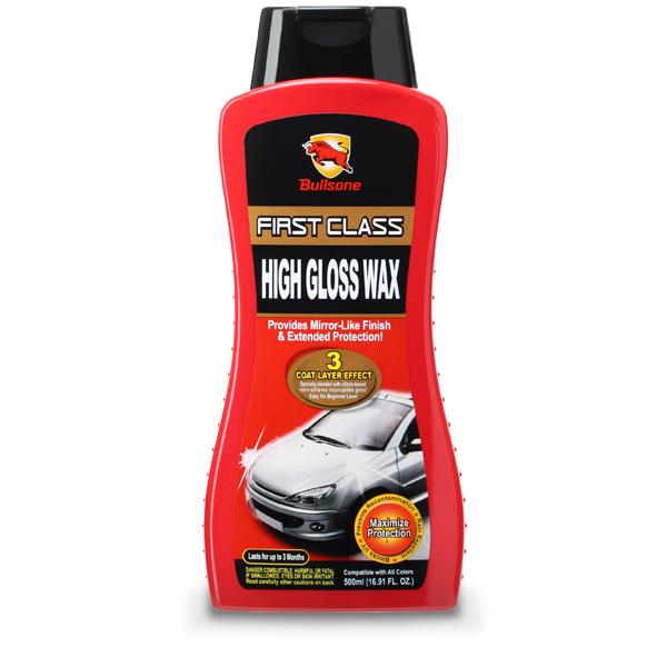 Bullsone น้ำยาเพิ่มความเงางามและปกป้องผิวสีรถยนต์ - รุ่น Polish & Protect 500 มล.