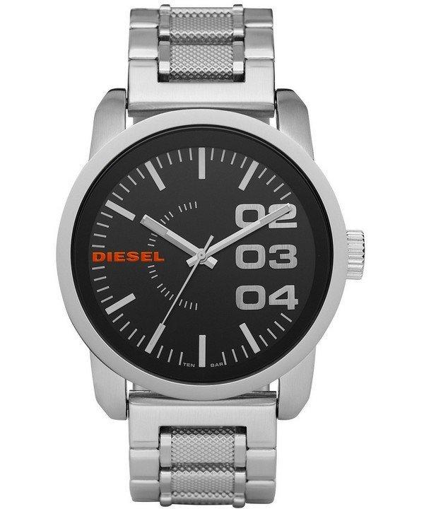 นาฬิกาผู้ชาย Diesel รุ่น DZ1370, Black Dial Stainless Steel WR100M