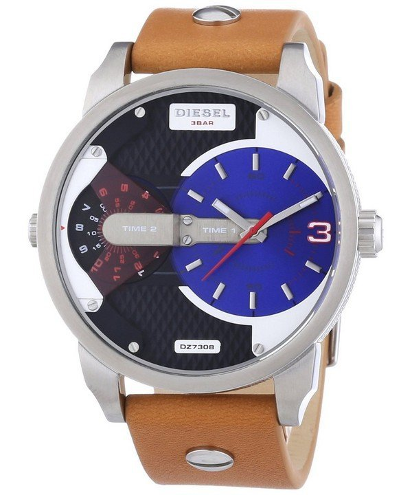 นาฬิกาผู้ชาย Diesel รุ่น DZ7308, Mini Daddy Dual Time