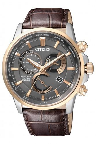 นาฬิกาผู้ชาย Citizen Eco-Drive รุ่น BL8149-18H, Perpetual Calendar Sapphire Japan Made Men's Watch