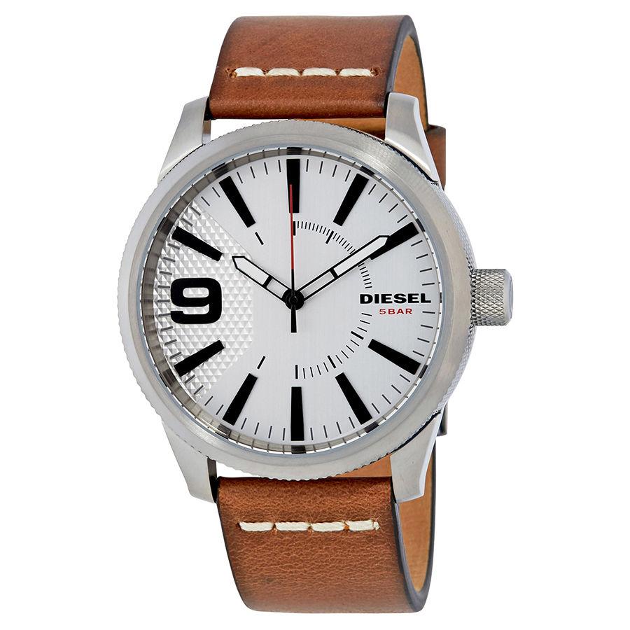 นาฬิกาผู้ชาย Diesel รุ่น DZ1803, Rasp Silver Dial