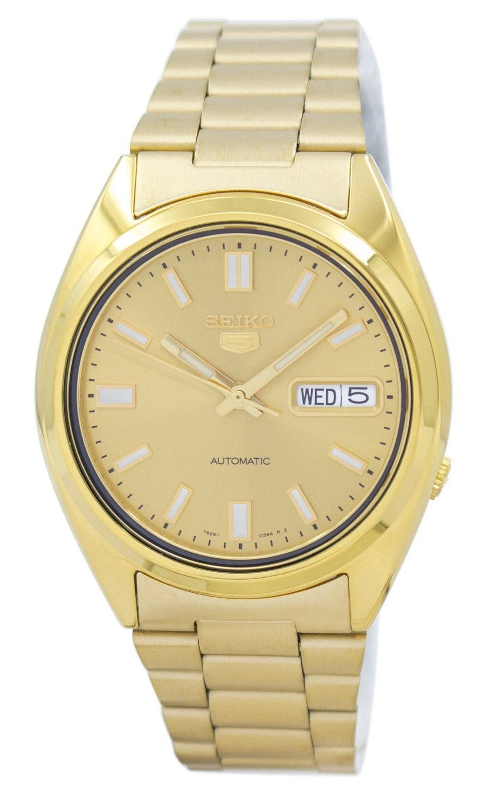 นาฬิกาผู้ชาย Seiko รุ่น SNXS80K1, Seiko 5 Automatic
