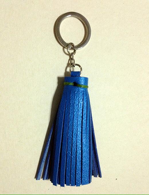 พวงกุญแจหนังแท้ -Key fob