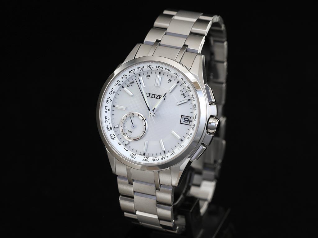 นาฬิกาข้อมือผู้ชาย Citizen Eco-Drive รุ่น CC3010-51A, Atessa Satellite GPS