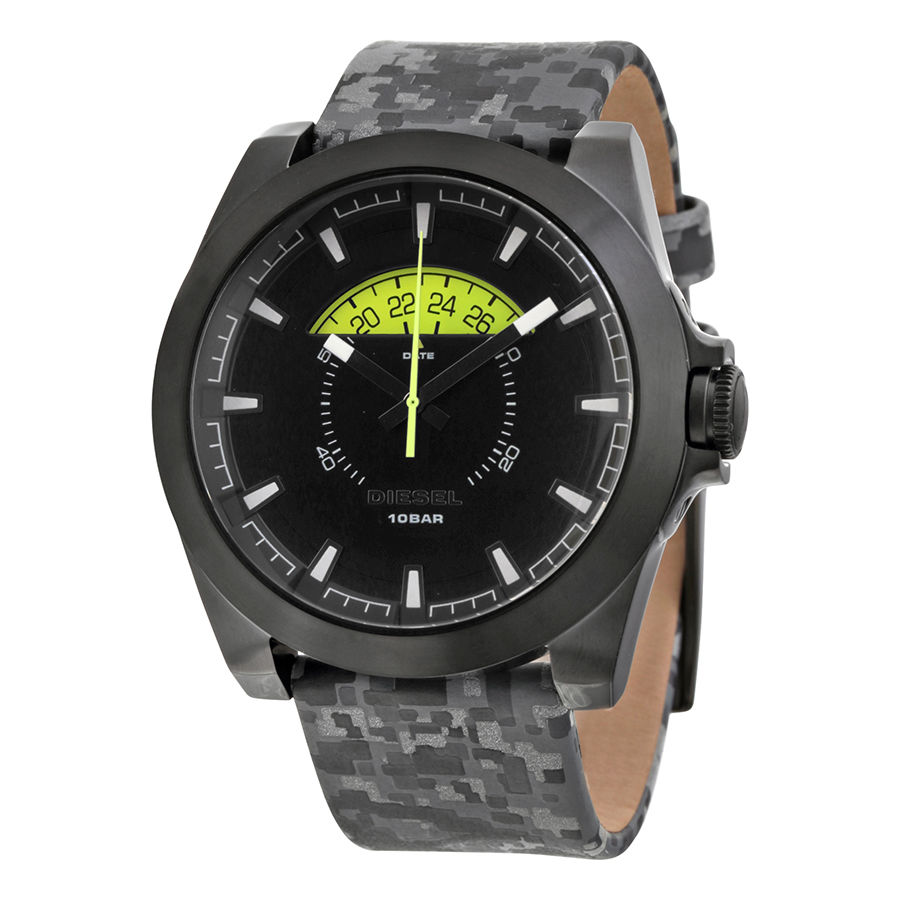 นาฬิกาผู้ชาย Diesel รุ่น DZ1658, Camo Leather