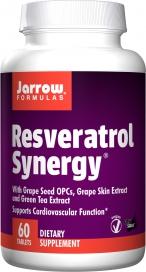 Jarrow Formulas Resveratrol Synergy 60 Tablets