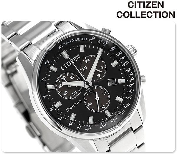 นาฬิกาผู้ชาย Citizen Eco-Drive รุ่น AT2390-58E, Citizen Collection Chronograph Tachymeter Men's Watch