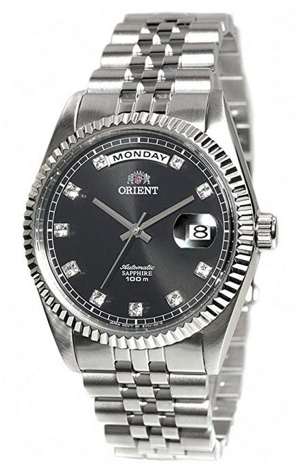 """นาฬิกาผู้ชาย Orient รุ่น FEV0J003BY, """"Oyster"""" Classic Automatic Sapphire 100M"""