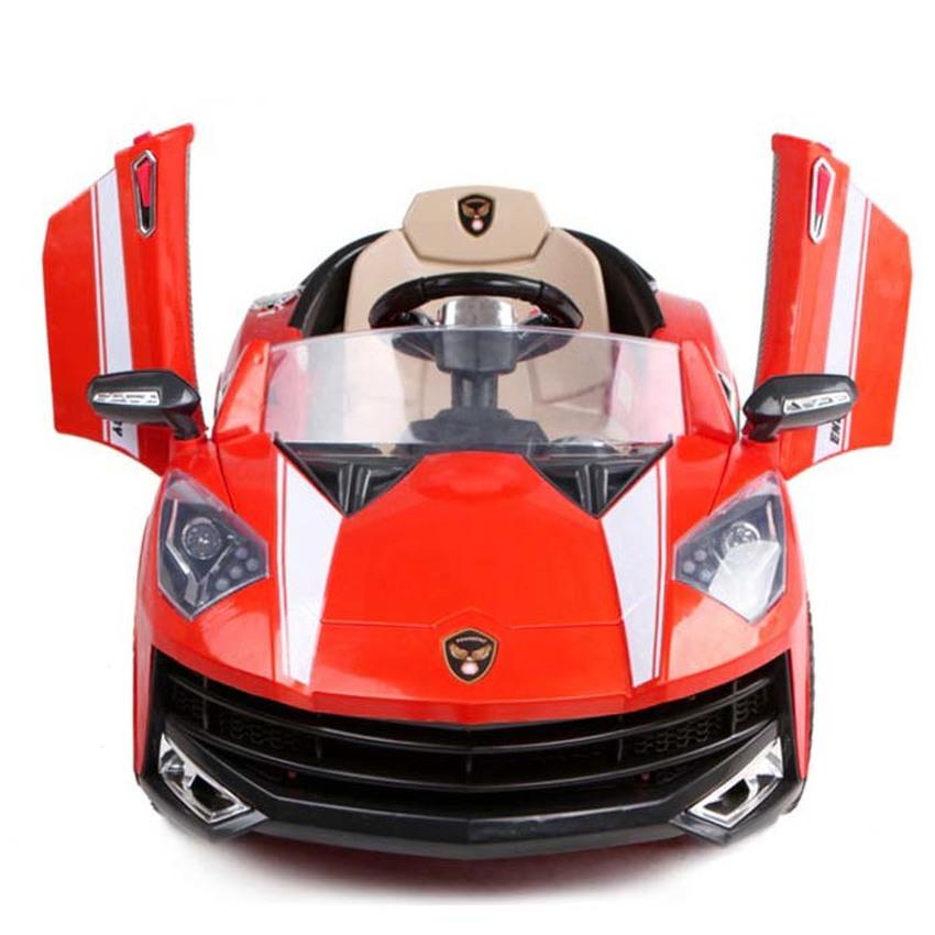 รถแบตเตอรี่เด็กขับ แลมโบกินี่ ประตูปีกนก Lamborghini ล้อยาง 2 มอเตอร์