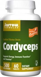 Jarrow Formulas Cordyceps 500 mg 60 Tablets