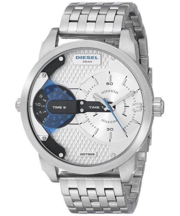 นาฬิกาผู้ชาย Diesel รุ่น DZ7305, Mini Daddy Dual Time