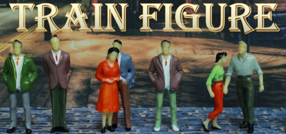 ร้านเทรนฟิคเกอร์ (Train Figures) จำหน่ายคนจิ๋ว โมเดลจิ๋ว รถจิ๋ว ต้นไม้-เสาไฟจิ๋ว รั้ว โมเดลร้าน-อาคาร ฯลฯ