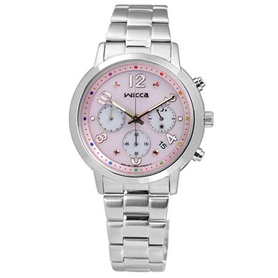 นาฬิกาข้อมือผู้หญิง Citizen Eco-Drive รุ่น KF5-012-91, Wicca Limited Chronograph Watch