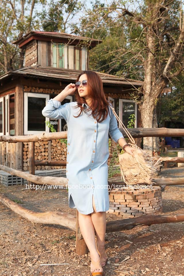 Dress shirt ยีน ซีด