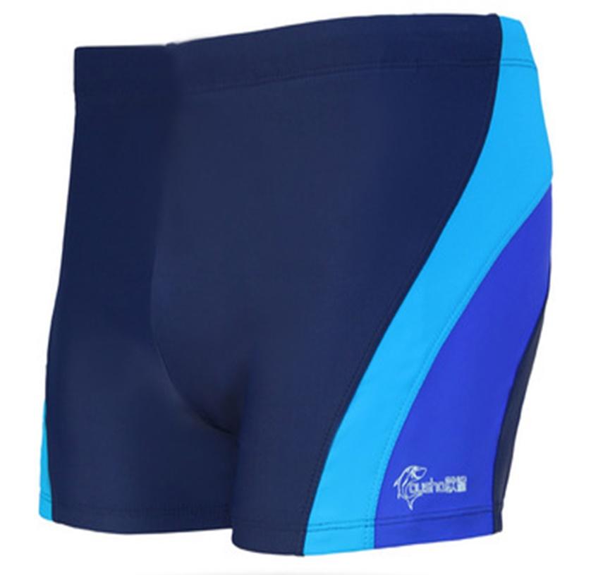 ชุดว่ายน้ำคนอ้วนชาย พร้อมส่ง :กางเกงว่ายน้ำชายสีกรม แต่งทางสีฟ้ามีหมวกแบบสวยจ้า:เอว32-40นิ้ว สะโพก40-48นิ้วจ้า