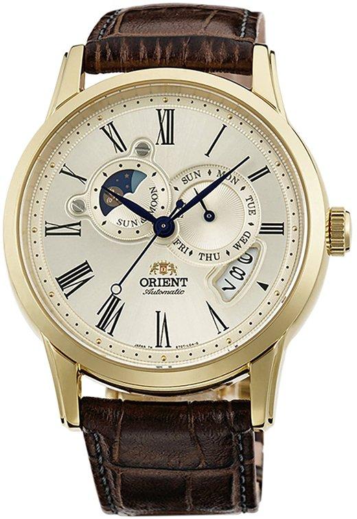 นาฬิกาผู้ชาย Orient รุ่น SET0T005Y, 65th Anniversary Sun & Moon Limited Edition (3000pcs)