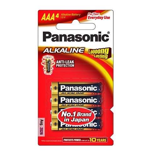 ถ่าน Panasonic Alkaline 3A
