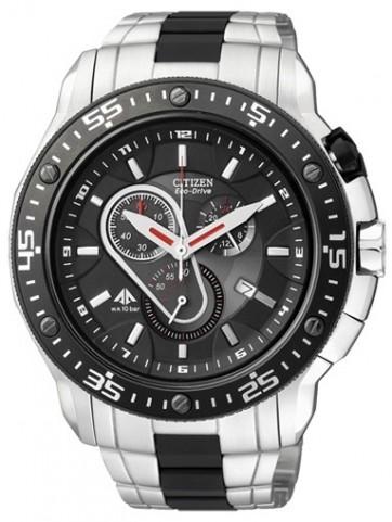 นาฬิกาข้อมือผู้ชาย Citizen Eco-Drive รุ่น AT0700-53E, Sapphire Chronograph Japan