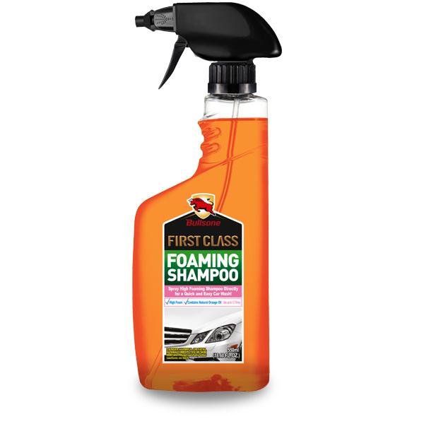 Bullsone แชมพูล้างรถเนื้อโฟม ล้างได้เลยโดยไม่ต้องใช้น้ำ
