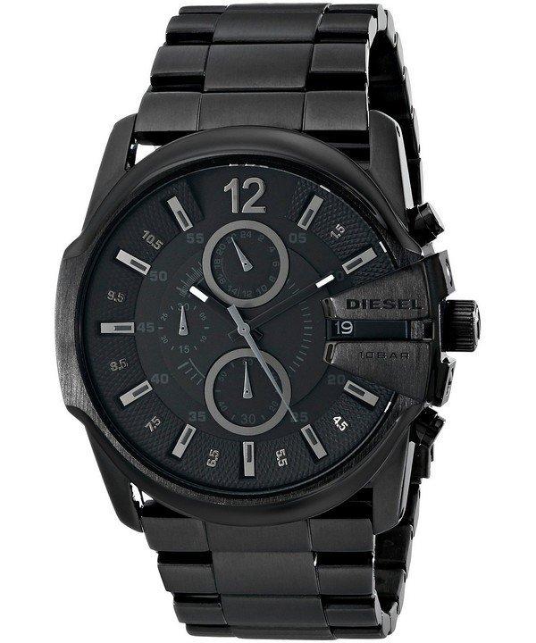 นาฬิกาผู้ชาย Diesel รุ่น DZ4180, Master Chief Chronograph Black Dial