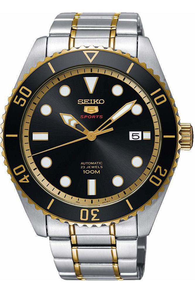นาฬิกาผู้ชาย Seiko รุ่น SRPB94K1, Seiko 5 Sports Automatic