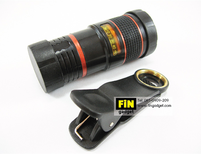 เลนส์ซูม 8X Mobile Telephone Lens