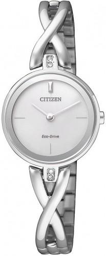 นาฬิกาข้อมือผู้หญิง Citizen Eco-Drive รุ่น EX1420-84A, Elegant Jewellery Bracelet Watch
