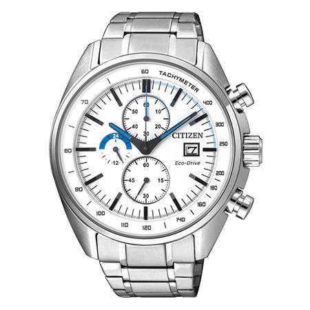 นาฬิกาข้อมือผู้ชาย Citizen Eco-Drive รุ่น CA0590-58A, Chronograph Business Silver