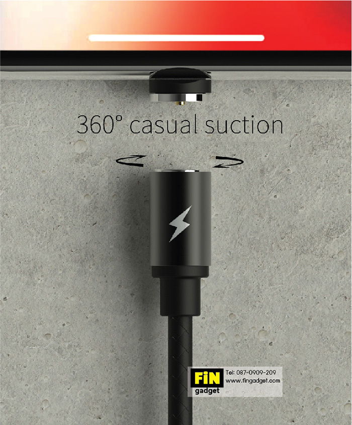 WK Magnet Cable Type C Attraction WDC-046