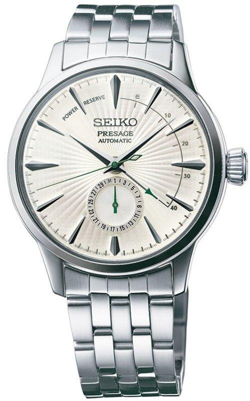 นาฬิกาผู้ชาย Seiko รุ่น SSA341J1, Presage Cocktail Automatic Power Reserve