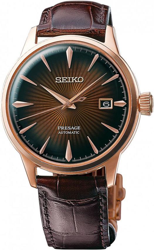 นาฬิกาผู้ชาย Seiko รุ่น SRPB46J1, Presage Cocktail Automatic Power Reserve